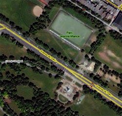 Avenue Du Parc map