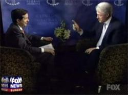 Bill Clinton  PWNING a fox interviewer