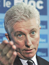 gilles duceppe, leader of hte bloc quebecois