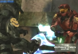 This spartan life, full serving talk show filmed entirely within Halo