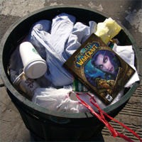 World of warcraft - trash it!