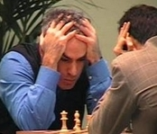 kasparov getting  pwned